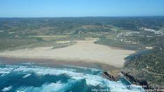 A Terceira Dimensão - Fotografia Aérea: Praia da Bordeira (Praia da Carrapateira)
