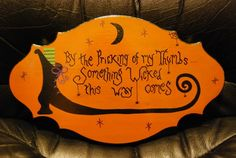 Tole Painting | Halloween sign - Decorative & Tole Painting Forum - GardenWeb