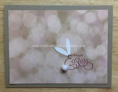 "All That Scrap: Watercooler Wednesday Challenge 110 - Heather's ""Easter Bunny"" Clean and Simple Challenge"