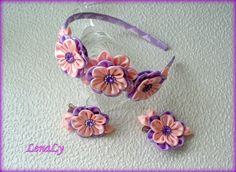 Hey, I found this really awesome Etsy listing at https://www.etsy.com/listing/175777462/set-of-flowers-kanzashi-2-hair-clips