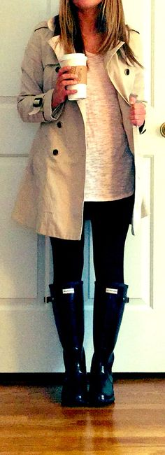 Rainy day outfit perfect for relaxing and trying to get some work done