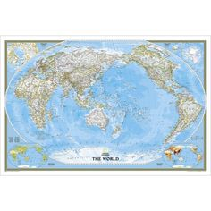 Download asia centered world map world maps pinterest asia center employs a new map projection to accentuate the pacific rim and show the entire breadth of the pacific ocean it brings oceania and asia into the center gumiabroncs Images