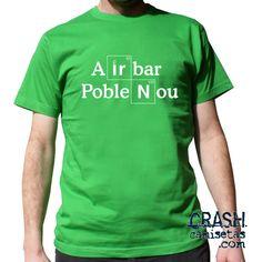 Camisetas AIRBAR POBLENOU.