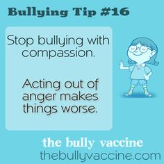Bullying tip #16: The most effective anti-bullying skill is almost never taught.  - Compassion - video
