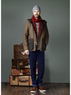 AW12 Lookbook photo shoot from Burton Menswear London