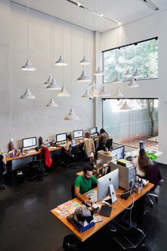 Nice workspace  #office #design #moderndesign http://www.ironageoffice.com/