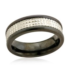 Liquidation Channel | Spinning Band Ring in Stainless Steel