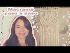 Tapiz de Macramé paso a paso Nudos Básicos - YouTube Nudo Simple, Macrame Projects, Macrame Tutorial, Plant Hanger, Dream Catcher, Creations, Youtube, Diy, Ideas