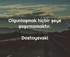 #dostoyevski Hoş,tecrübeye ömür  yetmez imiş..Beterinden Mevlaya sığınırım.