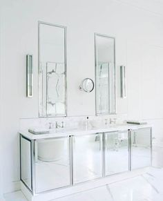 mirrored+bathroom+vanity | So which of these two bathroom sinks do you prefer and why? Or do you ...