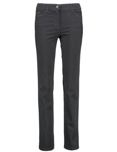 Straight cut jeans Romy,Black Black Denim