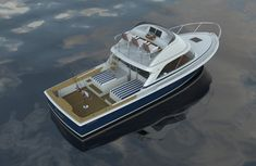 The Bertram 35 will debut at the 2016 Fort Lauderdale International Boat Show.