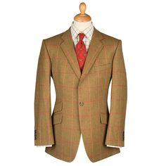 Aintree Jacket : 100% Scottish Tweed