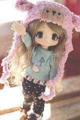 Boo!!! (AniredaDolls) Tags: japan japanese doll dolls handmade juice boo bjd kiki kinoko azone kikipop yosd azonedolls
