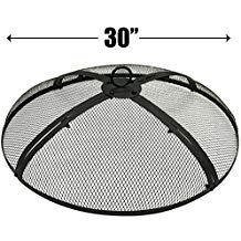 Easygoproducts Egp Fire 003 Easygo 30 Inch Round Pit Cover Fire Screen Protec 30 None Fire Pit Screen Fire Pit Screen Cover Fire Pit Cover