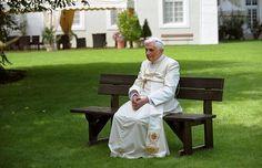 Pope Benedict XVI on holiday