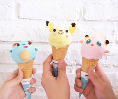 | pokemon ice cream! do you hear my inner nerd screaming
