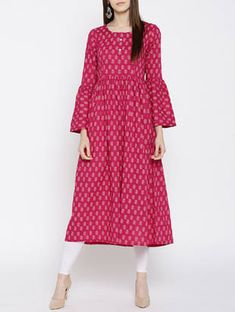 Check out what I found on the LimeRoad Shopping App! You'll love the pink cotton flared kurta. See it here http://www.limeroad.com/products/14563425?utm_source=6c79537446&utm_medium=android