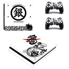 >> Click to Buy << PS4 Slim Skin Sticker GINTAMA Decals Designed for PlayStation4 Slim Console and 2 controller skins #Affiliate