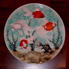 Wemyss Ware fish plate