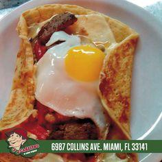 Panqueques dulces y salados! Lo de Carlitos el sabor Original!! ahora en Miami Beach