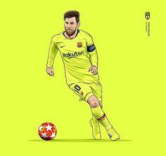 Soccer Art, Football Art, Neymar Jr, Soccer Drawing, Messi Photos, Manchester United Legends, Leonel Messi, Barcelona Football, Messi 10