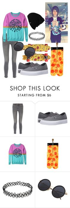 """KYLE DAVID HALL"" by infinityfreak13 ❤ liked on Polyvore featuring M.i.h Jeans, Vans, Odd Sox, Patagonia, men's fashion and menswear"