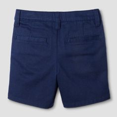 Toddler Boys' Chino Shorts - Cat & Jack Navy 4T, Navy Voyage