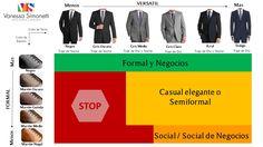 Ternos & Zapatos: Usos y Combinaciones.  VS Imagen Personal & Profesional
