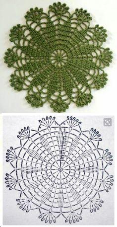 Carpeta Tejida a Crochet