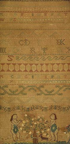 Ruth Rogers: Boston 1739 Embroidered sampler (1984.331.6) |  | The Metropolitan Museum of Art