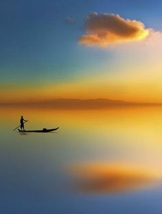 serene reflection