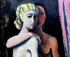 IMG_6507A Karl Hofer. 1878-1955. Two young women. 1935. Mannheim. Kunsthalle. | by jean louis mazieres
