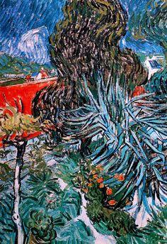 Vincent Van Gogh - Post Impressionism - Auvers - Le jardin du docteur Gachet - 1890