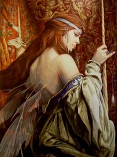 """The Lady & The Unicorn"" by Brian Froud"
