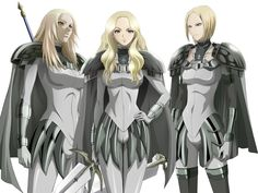 Claymore - Clare Theresa anime | What is your top four Fav Claymores? - Claymore - Fanpop
