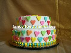 Torta Jumping Hearts - Jumping Hearts Cake  by Fancy Food and Cakes