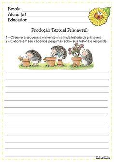 Ensinando com Carinho: Produção Textual para 2º ano
