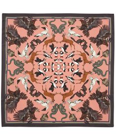 Scottish Splendour Silk Scarf, Silken Favours. Shop more from the Silken Favours collection at Liberty.co.uk