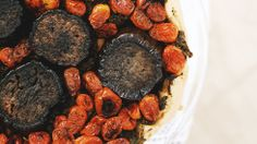 Jenni Kayne and Nathan Turner throw a gorgeous Easter brunch // Moroccan spiced eggplant and tomato tart #recipe