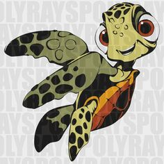 Nemo svg little turtle svg moana svg finding dory svg Finding Nemo Turtle, Finding Dory, Disney Drawings, Cute Drawings, Dory Drawing, Cartoon Up, Disney Sleeve, Disney Clipart, Silhouette Projects