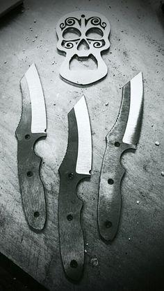 Brute Force Blades  3 Rasp models and a custom bottle opener.