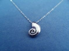 The Little Mermaid, Ariels Voice Shell, Sterling Silver, necklace