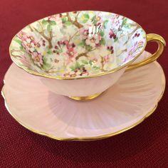 Is Porcelain China Tea Cup Set, Cup And Saucer Set, Tea Cup Saucer, Tea Sets, Pink Coffee Cups, Tea Party Sandwiches, Vintage Tea Parties, Vintage Cups, Tea Service