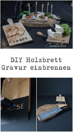 DIY Holzbrett – Gravur einbrennen