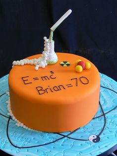Science cake for a Birthday?
