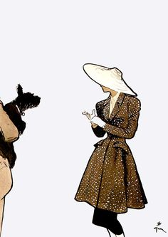 René Gruau #fashion #illustration