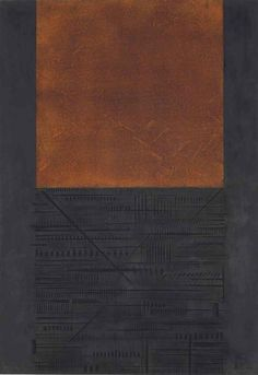 blastedheath:  Arnaldo Pomodoro (Italian, b. 1926), Cronaca 3: Ugo Mulas, 1977. Etching and aquatint with embossing in colours, 990 x 690mm.