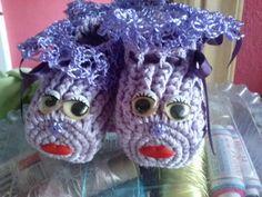 sapatinho liliane feito por mim crochetsruth costa ...estou no facebook
