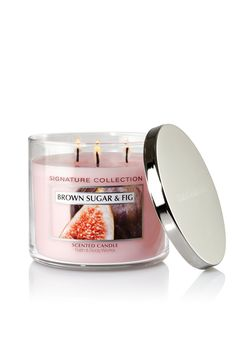 Brown Sugar & Fig 14.5 oz. 3-Wick Candle - Classics - Bath & Body Works... I want this!